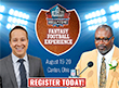 HOFers to Join Nationally Accalimed Panel of Fantasy Football Experts