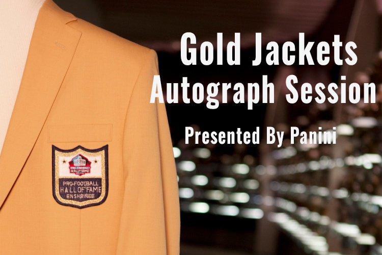 Gold Jackets Autograph Session Presented by Panini