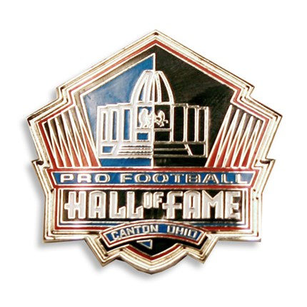 Official Hall Of Fame Logo Pin