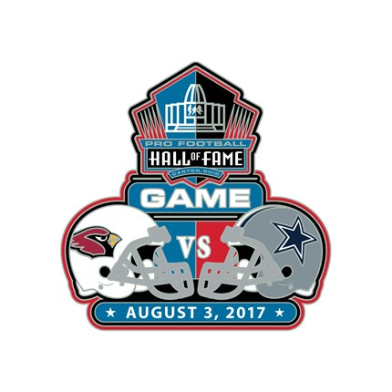Hall of Fame 2017 Dueling Game Pin