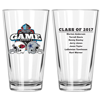 2017 Hall of Fame Dueling Game Mixing Glass