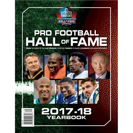 Pro Football Hall of Fame Yearbook 2017-2018