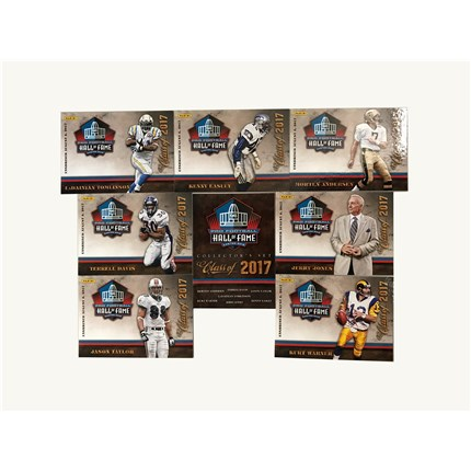 Hall of Fame Class of 2017 Panini® Card Set
